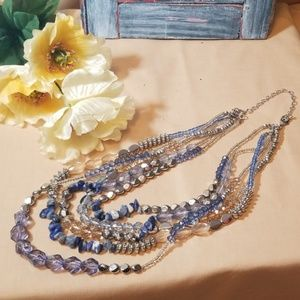 Multiple layer adjustable premier necklace